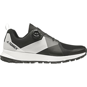adidas TERREX Two Boa - Chaussures running Homme - blanc/noir